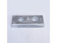 防腐船用锌阳极板 防腐锌快定做厂家生产销售